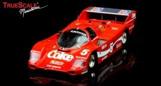 Porsche 962 Short Tail 1986 Sebring 12hr Winner #5 Bob Akin/CocaCola Diecast Model Car in 143 Scale by True Scale Miniatures Toys & Games