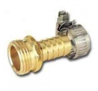 MINTCRAFT GB934M3L Brass End Repair Male Hose, 1/2 Inch  Garden Hose Parts  Patio, Lawn & Garden