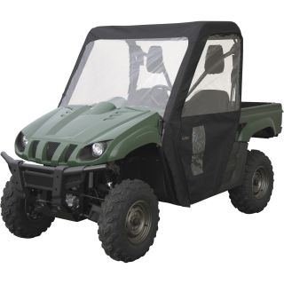 Classic Accessories QuadGear UTV Cabin Enclosure — Fits Yamaha Rhino, Black, Model# 78007  UTV Accessories