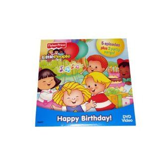 Fisher Price Little People 50th Birthday DVD Toys & Games