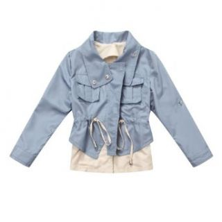 Richie House Girl's Girls fashion jacket with drawstring and stoppers RH1038 Fashion T Shirts Clothing