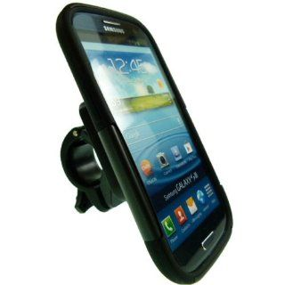 Easy Fit Anti Shock Impact Motorcycle Bike Mount for Galaxy S3 GT i9300 Cell Phones & Accessories