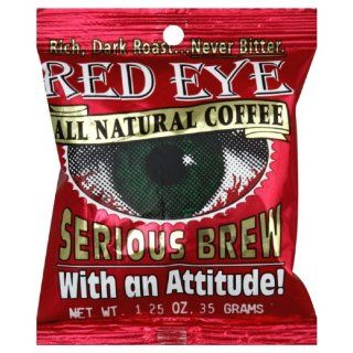 Stewart's Coffee Red Eye, 1.25 Ounce (Pack of 24)  Ground Coffee  Grocery & Gourmet Food