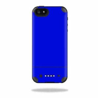 MightySkins Protective Vinyl Skin Decal Cover for Mophie Juice Pack Air iPhone 5 Apple iPhone 5 Battery Case Sticker Skins Glossy Blue Cell Phones & Accessories
