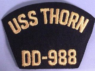 "US Navy USS THORN DD 988 3"" Tall Embroidered PATCH"