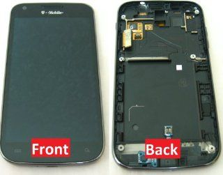 Samsung Full LCD Display, Touch Screen Digitizer Assembly for Samsung Galaxy S2 SGH T989 Hercules T mobile Cell Phones & Accessories
