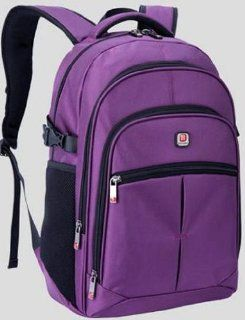 BAL ANG Colorful series Lightweight fashion Laptops backpack ASBA990. computer notebook tablet,knapsack,rucksack bag for man woman school student business  S Purple Computers & Accessories
