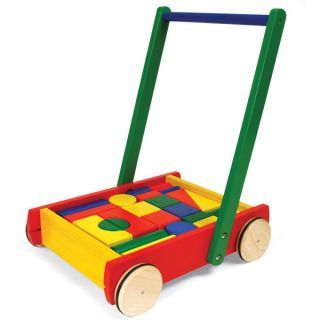 Pintoy Baby Walker with 24 Blocks      Toys