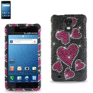 Premium Full Diamonded Hard Protective Case Samsung Infuse 4G(I997) (DPC SAMI997 11) Cell Phones & Accessories