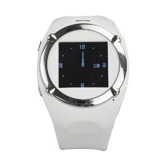 Brand New MQ998 Watch Cell Phone GSM Mobile 1.5 Inch Touch Screen Bluetooth  White Cell Phones & Accessories