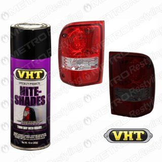 VHT SP999 Nite Shades Lens Cover Tint Translucent Black Paint Can   10 oz. Automotive