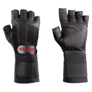 Half Finger Anti Vibration Gloves with Wrist Wrap  Gymnastics Hand Grips  Sports & Outdoors