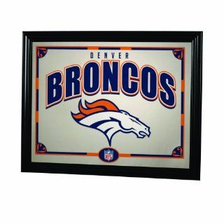 NFL Denver Broncos 22 Inch Printed Mirror  Sports Fan Mirrors  Sports & Outdoors