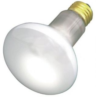12 Pack Satco S3849 45 Watt R20 Frosted Indoor Reflector Light Bulb with Medium Base   Incandescent Bulbs