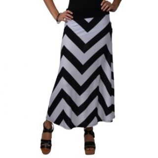 Brinlrey Co Womens Cinched Stretch Maxi Skirt