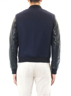 Bastion leather sleeve bomber jacket  Rag & Bone  MATCHESFAS