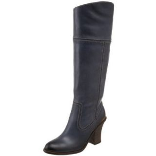 Lucky Brand Women's Elena Knee High Boot, Midnight, 5 M US Shoes