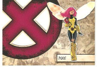 2011 Marvel Beginnings X Men Die Cut #X34 Pixie (Insert Card)(Non Sport Comic Trading Cards)(Upper Deck   Series 1) Toys & Games