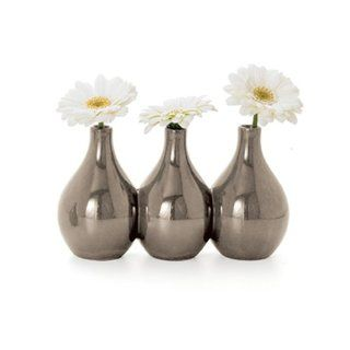 Shop Torre & Tagus Nari 3 Bud Vase, Gray at the  Home D�cor Store. Find the latest styles with the lowest prices from Torre & Tagus