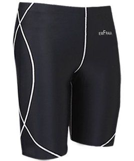 emFraa Men Women Skin Tight Base layer Running Compression Shorts Black S ~ XL  Sports & Outdoors