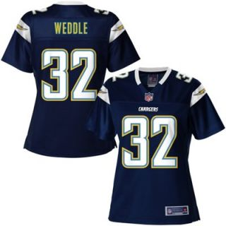 Pro Line Womens San Diego Chargers Eric Weddle Team Color Jersey