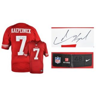 Colin Kaepernick San Francisco 49ers Autographed Nike Red Authentic Jersey