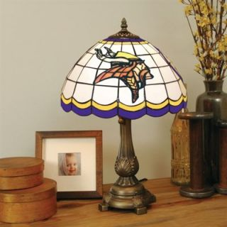 Minnesota Vikings Tiffany Table Lamp