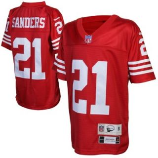 Reebok San Francisco 49ers Deion Sanders Youth Retired Premier Throwback Jersey
