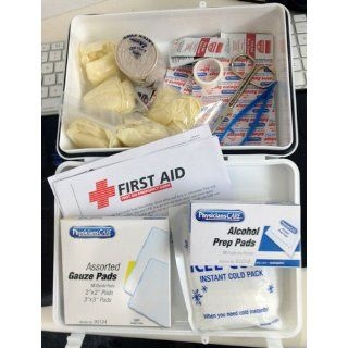 PhysiciansCare Office First Aid Kit For 25 People, Contains 131 Pieces Health & Personal Care