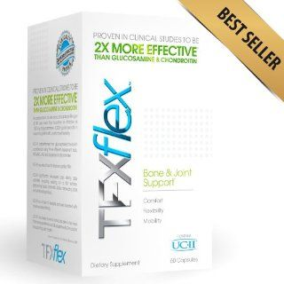 TFX Flex Type II Collagen (Contains UC II)   #1 Award Winning Bone, Muscle and Joint Support Formula   60 Capsules   30 Servings Per Container   Clinically Proven to be 2X More Effective Than Glucosamine and Chondroitin   Joint Pain Relief in as Little as
