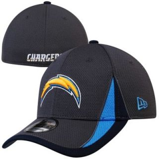 New Era San Diego Chargers Training Replica 39THIRTY Flex Hat   Graphite
