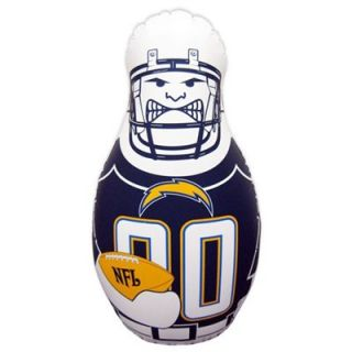 San Diego Chargers 40 Inflatable Tackle Buddy Punching Bag