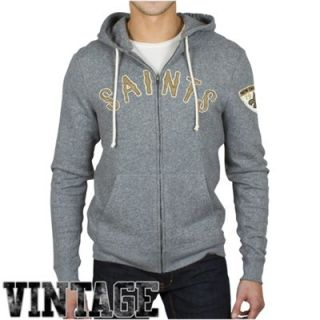 Junk Food New Orleans Saints Sunday Hoodie   Ash