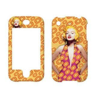 Hard Plastic Snap on Cover Fits Apple iPhone Marilyn Monroe 001 AT&T (does NOT fit Apple iPhone 3G/3GS or iPhone 4/4S or iPhone 5/5S/5C) Cell Phones & Accessories