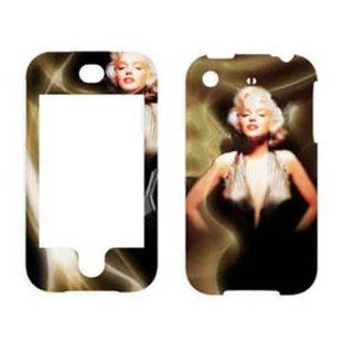 Hard Plastic Snap on Cover Fits Apple iPhone Marilyn Monroe 008 AT&T (does NOT fit Apple iPhone 3G/3GS or iPhone 4/4S or iPhone 5/5S/5C) Cell Phones & Accessories