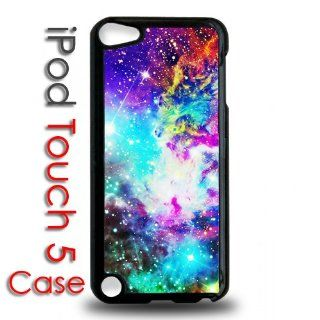 IPod 5 Touch Black Plastic Case   Galaxy Stars Hipster Nebula   Players & Accessories