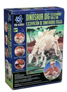 Edu Science Stegosaurus Dinosaur Dig Toys & Games