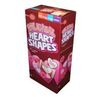 Betty Crocker Valentine Heart Shapes Gummy fruit flavored Snacks Forty eight pouches  Gummy Candy  Grocery & Gourmet Food
