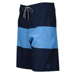 Volcom Heather Stripe Boardshorts   Mens   Casual   Clothing   Airforce Blue