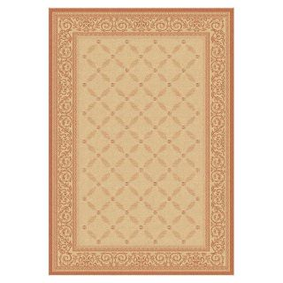 Safavieh Courtyard 1502 Indoor/Outdoor Area Rug   Terra Cotta   Area Rugs
