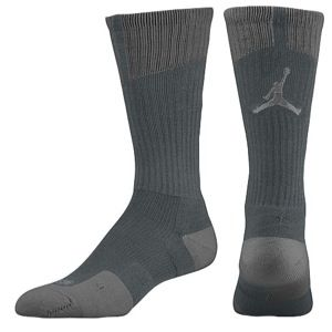 Jordan AJ Dri Fit Crew Socks   Mens   Basketball   Accessories   Atomic Mango/Black/Black