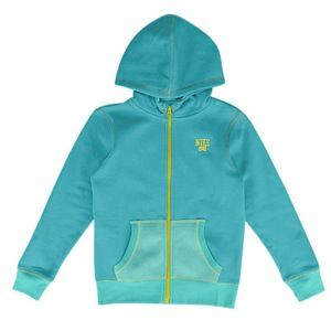 Nike SB Colorblock Full Zip Hoodie   Girls Grade School   Casual   Clothing   Tropical Teal