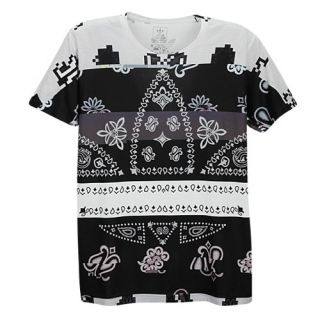 adidas Originals Graphic Sublimated T Shirt   Mens   Casual   Clothing   Black/Red/White