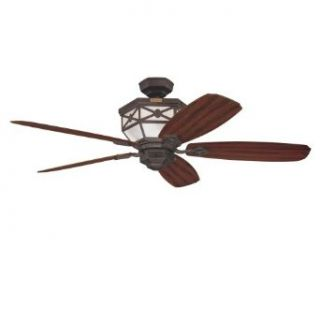 Westinghouse 72013 Athena 52 Inch Five Blade Ceiling Fan, Oil Rubbed Bronze with Illuminated Motor Housing