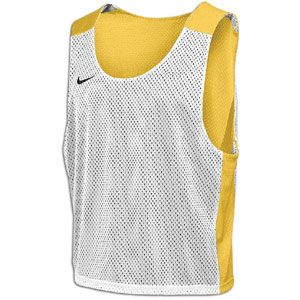 Nike Lax Reversible Mesh Tank   Mens   Lacrosse   Clothing   Bright Gold/White/Black