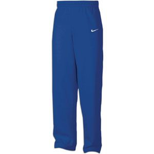 Nike Core Open Bottom Fleece Pants   Mens   For All Sports   Clothing   Royal/White