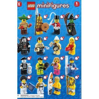 LEGO Collectible Minifigures Series 2 8684 17 Complete Set of 16 Toys & Games