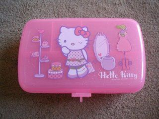 Hello Kitty Cat Pink Jewelry Box / Storage Case   with Lock and Keys   Great Gift Giving Idea for Women and Girls   Jewelry Chests