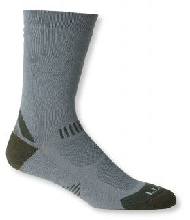 Mens All Sport Primaloft Socks, Midweight Crew 2 Pack