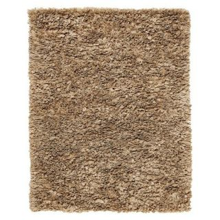 Recycle Paper Shag Area Rug   Mocha (5x8)